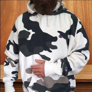 🔥VTG Champion Camouflage Pattern Hoodie🔥